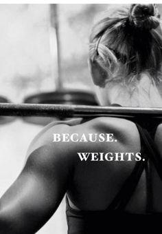 Weights.