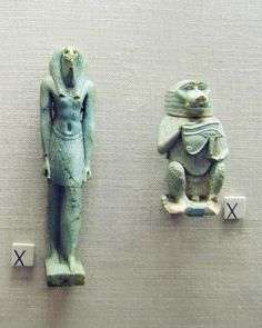 Two Amulets of Thoth