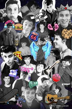 Made this collage of the one and only Shawn mendes!!!! Aka the muffin man