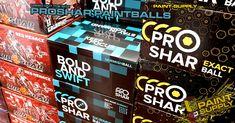 Hallo liebe Paintballer, heute erreichte uns eine Lieferung Pro Shar. Mitgekommen sind die neuen Formeln der Skirmish und der Exact Paintballs. Passend für die G.I. Menace Pistole kamen natürlich auch allerfeinste Paintballs im Cal.50 von ProShar mit.  Hier geht es direkt zu den Paintballs: https://www.paintball-online-shop.net/markierer-ausruestung/paintballs/paintballs-caliber.