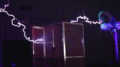 Star Wars Imperial March on Tesla Coils - ArcAttack at MakerFaire 2013