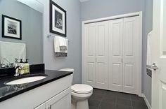 Beautiful blue-gray wall color! (Jubilee - Sherwin Williams)