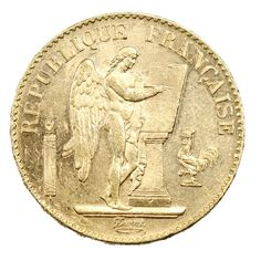 Une nouvelle pièce de 20 Francs Or Génie est en vente dans la Boutique Sacra Moneta Moneta, 20 Francs, French Coins, Genie, Or, Boutique, Personalized Items, Classic, Boutiques