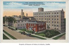 Swedish Hospital, Seattle, n.d. Summit Ave and Columbia St