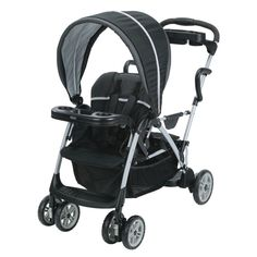 GRACO Roomfor2 CLICK CONNECT Stand and Ride One-hand Fold STROLLER, Gotham New #Graco