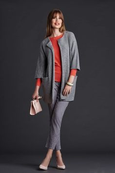 #quiosque #quiosquepl #lookbook #autumn #winter #ootd #girl #polishgirl #womanwear #woman #lady #new #collection #trends #style #kobieta #lookoftheday #look #outfitoftheday #grey #szary #jacket #trousers #blouse