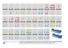 Resultado de imagen de fichas actividades musica