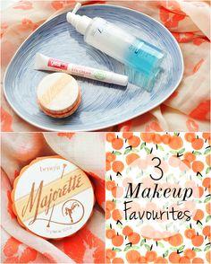 3 Recent Makeup Favourites