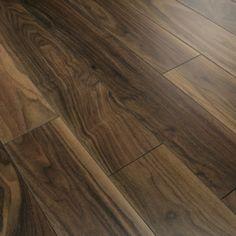 Series Elite 10mm American Black Walnut V Groove Laminate Flooring £11/sqm