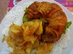 Chicken Salad Croissant Sandwich (The French Baker)
