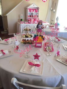 "Leilani's ""American Girl"" Cafe Inspired Birthday Party  