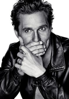 Matthew McConaughey / Photographed by Eric Ray Davidson / For L'Optimum Magazine December/January 2014/2015