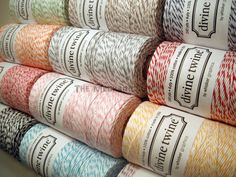 Divine Twine Full Spool Bakers Twine Party Supplies by legoods, $11.99