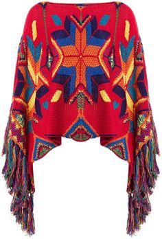 Polo Ralph Lauren Multicolored Poncho