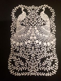 art, artist, anna howarth, papercut, papercutting, folklore ...