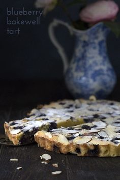 A delicious low carb almond and wild blueberry tart. This crustless keto dessert is easy and elegant, and makes a perfect Mother's Day Brunch. Or Father's Day!