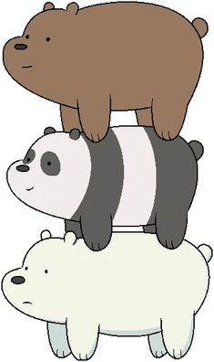escandalosos - BúsquedadeGoogle Cute Panda Wallpaper, Bear Wallpaper, Wallpaper Iphone Cute, Ice Bear We Bare Bears, We Bear, Cadena Cartoon, 365 Kawaii, Cartoon Network Characters, Cartoon Network Bears