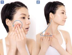 Nosogubki off: two fingers and 15 minutes to smooth the nasolabial folds - BE IN THE TOPIC Nasolabial Folds, Face Yoga, Face Massage, Natural Health, At Home Workouts, Health And Beauty, Health Fitness, Make Up, Fingers