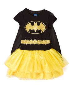 Another great find on #zulily! Batgirl Glitters Costume Set - Girls #zulilyfinds