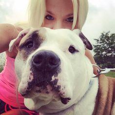 Buster has a big head.