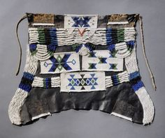 Africa   Apron ~ ibeshu ~ from the Zulu [?] people of South Africa   Leather, glass beads   20th century African Design, African Art, Cultural Artifact, Art Africain, France Photos, Grand Palais, African Beads, Zulu, Ethnic Jewelry