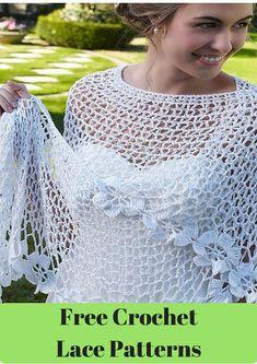 31 Free Crochet Lace Patterns