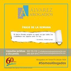 ¡Frase de la semana! #FelizLunes #FelizSemana #SomosAbogados #AlvarezAbogados #FrasedelaSemana