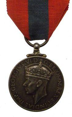 GVI Imperial Service Medal - Thomas Figgins