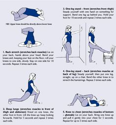 Fight against back pain with these easy exercises.