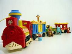 Vintage Fisher Price Little People Circus Train Fisher Price Toys, Vintage Fisher Price, Retro Toys, Vintage Toys, Childhood Toys, Childhood Memories, Circus Train, Little Tykes, Old School Toys