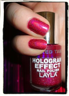Layla Hologram Effect- Red Taboo
