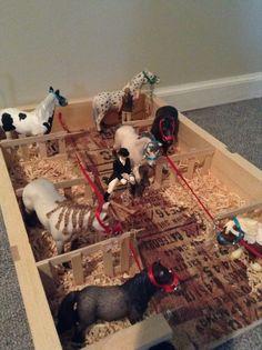 Schleich horse barn