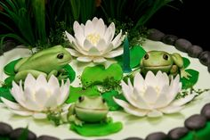 Frog Pond cake---would be pretty fun to make
