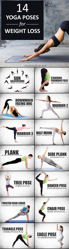 14 Morning Yoga for Weight Loss, Quick Fat Burning Yoga Routine for Beginners. Weight Loss routine for beginners. https://www.pinterest.com/yoganovice/yoga-for-beginners/