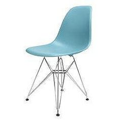 Charles Eames Inspired Eiffel DSR Blue Dining Chair £47