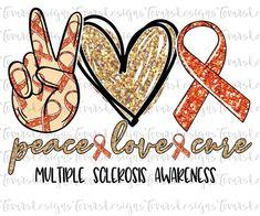 I Am Strong Multiple Sclerosis Awareness PNG File  Digital Print Design Sublimation