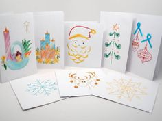The new Kolours Christmas cards with handmade embroidery! They are made at the Subhodayam lab for the Phisically Challenged, and the revenues are entirely invested in training programs for the girls in India. Indian Colours, Social Enterprise, Design Products, Training Programs, Lab, Christmas Cards, Challenges, Embroidery, Girls