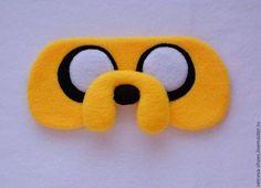 """Белье ручной работы. Ярмарка Мастеров - ручная работа. Купить Маска для сна """"Джейк"""". Handmade. Желтый, маска для сна"""