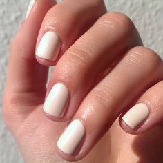 Short nails  #sallyhansen #awinkofpink