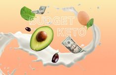 Keto grocery list, food and recipes for a keto diet before and after. Meal plans with low carbs, keto meal prep for healthy living and weight loss. Healthy Meals For Two, Super Healthy Recipes, Healthy Foods To Eat, Keto Recipes, Healthy Snacks, Keto Foods, Tasty Meals, Happy Healthy, Healthy Dinners