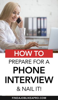 How to prepare for a phone interview and nail it?! Here are 4 secrets from a job hunting expert that will help you to prepare for your job interview on a phone and leave the best impression! #jobsearch #interviewtips #interviewhacks #phoneinterview #jobinterview #gethired