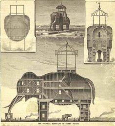 "Coney Island Elephant Hotel ""Colossus""."