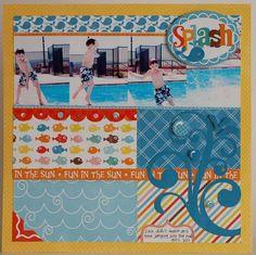 Splash layout by Designer Wendy Sue Anderson.