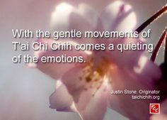 Quote by Justin Stone, Originator of the moving meditation T'ai Chi Chih: Find more info at www.taichichih.org Sacred Feminine, Feminine Energy, Justin Stone, Stone Quotes, Qi Gong, Yoga Art, True Nature, Martial Arts, Health Tips