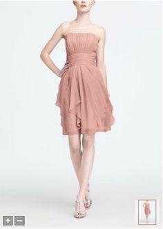 Ballet ---my 2nd preference---  Strapless Chiffon Dress with Layered Skirt Style F14169
