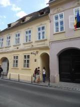Strada Sforii, Brasov Romania, Mansions, House Styles, Home Decor, Decoration Home, Manor Houses, Room Decor, Villas, Mansion