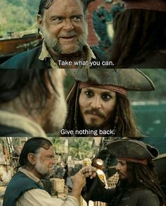 Pirates of the Caribbean: At World's End AAHHH! :) remember this? @Masha Kashuba totally using this as an excuse haha ;)
