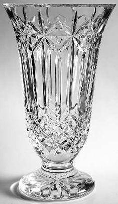 "Waterford Balmoral 12"" flower vase"