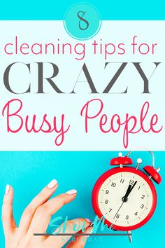 Want a clean house, but work full time? Or maybe you're crazy busy! These cleaning tips and hacks for busy people will help you keep your house clean in the time you have available. Small Bathroom Organization, Diy Organization, Bathroom Storage, Bathroom Cabinets, Organizing, Car Cleaning Hacks, Deep Cleaning Tips, Sweat Stains, Professional Cleaning