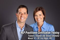 Tad James Company is conducting NLP Practitioner Certification Training with Stef and Shay Schafeitel on March 14 - 20 in Las Vegas